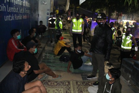 Keliling Kota Tegal, Tiga Pilar Pastikan Penerapan Protokol Kesehatan