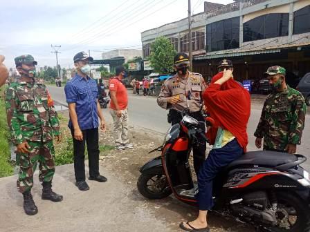 Razia Masker Bersama Dilaksanakan Guna Mendisiplinkan Pengendara