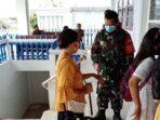 TNI Pantau Pelaksanaan Protokol Kesehatan di Gereja Lhokseumawe