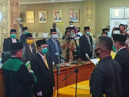 Indra Mansyur Diangkat Menjadi Anggota DPRD Pelalawan
