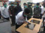Bupati Abuya Resmikan Gedung RITN di RSU Muyang Kite