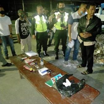 Tujuh Belas Orang dan 36 Sepeda Motor Diamankan Polisi Militer