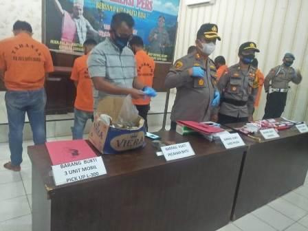 Demo Ampibi Ricuh, Polres Batu Bara Tetapkan 9 Tersangka