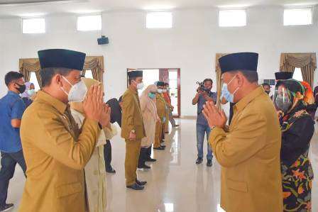 Empat Pejabat Eselon II di Rotasi Bupati Deli Serdang