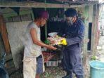 Satbrimob Aceh Kompi 2 Batalyon C Pelopor Bagikan Paket Sembako