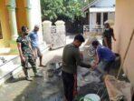 Satgas TMMD di Brebes Renovasi MCK Tempat Ibadah