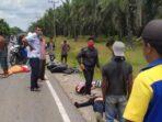 Dua Sepeda Motor Laga Kambing di Langkat, Tiga Orang Meninggal