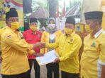 Warno LiLik Sumarno Kembali Pimpin PK Partai Golkar Kecamatan Binjai