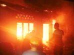 Diduga Akibat Obat Nyamuk, Dua Rumah Di Langkat Terbakar