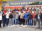 Polres Bersama Insan Pers Batu Bara Deklarasi Cinta Damai