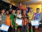 Wahyu Manaf Ginting Tutup Turnamen Bola Voli Se- Kecamatan Selesai