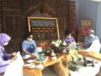 Ketum Dharma Pertiwi Buka Pelatihan Membatik Secara Virtual