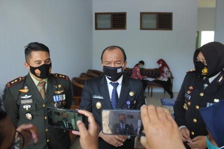 Wakil Walikota Tegal dan Jajaran Forkompinda Jalani Rapid Test