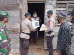 Brimob Aceh Kembali Bagikan Sembako Kepada Warga Kurang Mampu