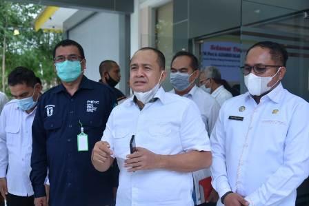 Bupati Batu Bara Sambut Staff Khusus Kementerian Kesehatan