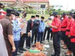 Pemkab Pelalawan Gelar Apel Penanggulangan Bencana