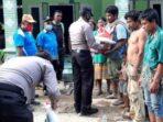 Kapolresta Deliserdang Beri Bantuan Sembako Kepada Korban Bencana Alam
