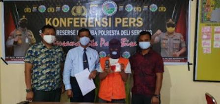 Bawa Sabu 50 Gram Pemuda Tanjung Morawa Di Tangkap Satres Narkoba