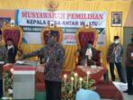 Pilkades Pergantian Antar Waktu Desa Grobog Kulon Dimenangkan Mufaizin