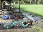 Mengasah Kemampuan, Personil Lanal TBA Latihan Menembak