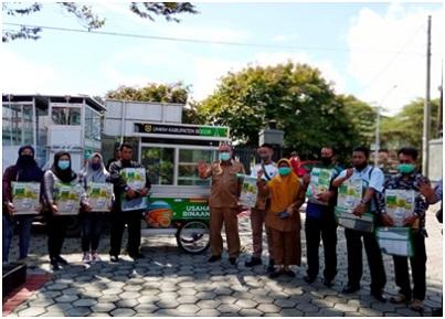 Pemerintah Kabupaten (Pemkab) Bogor mendapatkan hibah dana bantuan pariwisata dari Kementerian Pariwisata dan Ekonomi Kreatif, salah satunya melalui Dinas Perikanan dan Peternakan (Diskanak), berupa Gerobak Pemasaran Hasil Perikanan dari Kegiatan Bina Mutu dan Pemasaran Hasil Perikanan.