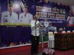 Bupati Asahan Menutup Konggres ASKAB PSSI Asahan Tahun 2021