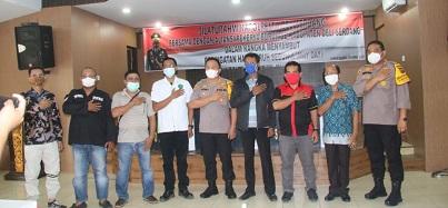 Kapolresta Deli Serdang Jalin Silaturahmi Dengan Persatuan Buruh Deli Serdang