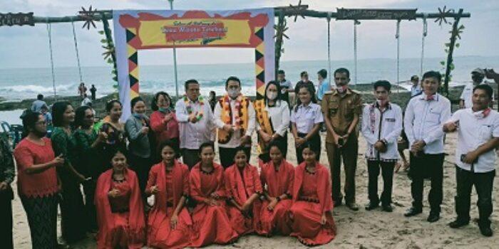 Pemkab Nias Barat Launching Distinasi Wisata Di Kamadu Desa Tetehosi Sirombu