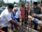Wabup Asahan Letak Batu Pertama Pembangunan Pondok Pesantren Syam Zalilul Akbar