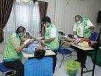 Dinkes Asahan dan Satgas BKB Sumut Laksanakan Pelayanan Kesehatan Bakti Sosial