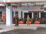 Khenoki Waruwu Pimpin Upacara Kenaikan Bendera Merah Putih
