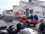 Satgas Covid-19 Asahan Semprot Disinfektan Kota Kisaran