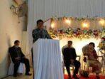 Bupati Nias Barat Hadiri Pesta Pernikahan Andreas Lase & Sri Matania Gulo