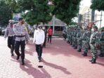 Bupati Hadiri Apel Gelar Pasukan Kesiapan Idul Fitri Polres Asahan