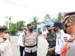 Walikota Dan Kapolres Subulussalam Cek Pos Penyekatan Perbatasan Aceh-Sumut