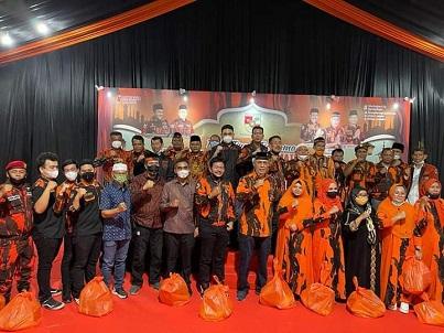 Bupati Nias Barat Bersama Istri Buka Puasa Bersama Ketua MPW-PP Prov Sumut