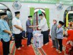 Bupati Dan Wakil Bupati Asahan Kunjungi Masjid Al-Hadil Haq Desa Sei Jawi Jawi
