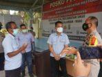 Wakapolres Pelalawan Tinjau Posko PPKM Berskala Mikro Di Kecamatan Ukui