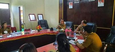 Wabup Hadiri Penyampaian Rancangan Awal Draft RPJMD Kabupaten Nias Barat