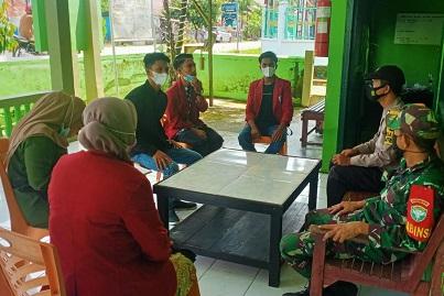 Mahasiswa KPM STIT Muhammadiyah Lakukan Kunjungan ke Polsek dan Koramil/02 Kuala Batee
