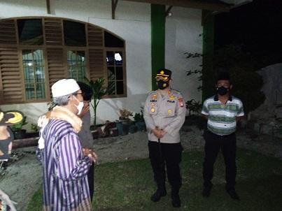 Kapolres Simalungun Ajak MUI Himbau Warga Muslim Ikuti Prokes Covid 19