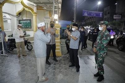 Pantau Penerapan Prokes, Malam Takbiran Idul Adha di Kabupaten Asahan Kondusif