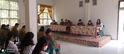 Rapat Evaluasi dan Koordinasi ASN/PTT Disdik Nisbar Mendukung Program Kerja Bupati