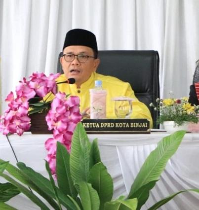 Ketua DPRD Minta Pemko Binjai Tempatkan Pejabat Sesuai Kompetensi