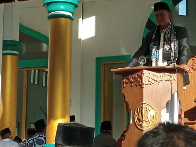 Tgk. Ruslan Bies Jadi Kahtib Sholat Idul Adha di Masjid Bintang