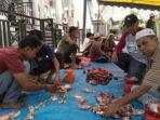 Masyarakat Durian Rampak Susoh Rebahkan 6 Ekor Kerbau dan 4 Sapi