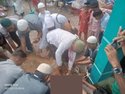 Musholla Al-Ikhlas Lakukan Penyembelihan 5 Ekor Hewan Qurban