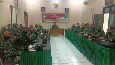 Pesan Dandim 0103/Aceh Utara Kepada Para Perwira Staf dan Danramil
