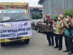 Bupati Asahan Serahkan 53.568 Goni Beras Bantuan PPKM