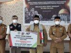 Pemerintah dan Masyarakat Aceh Utara Bantu Palestina Rp 668,5 Juta